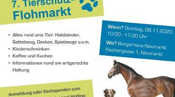 7. Tierschutz-Flohmarkt Bürgerhaus Neumarkt