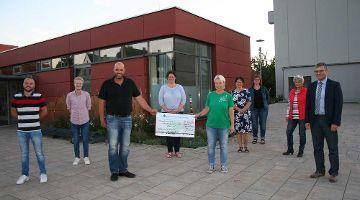 2.000 Euro Spende von der Kirwajugend Sengenthal