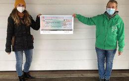 Spendenaktion von Katha und Martin Mulzer aus Roth
